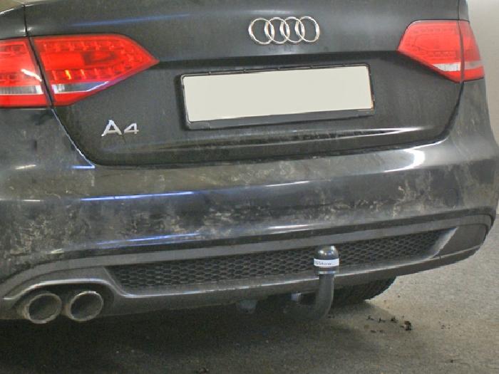 Anhängerkupplung Audi A4 Limousine nicht Quattro, nicht S4, speziell S-Line, Baureihe 2007-2011  vertikal