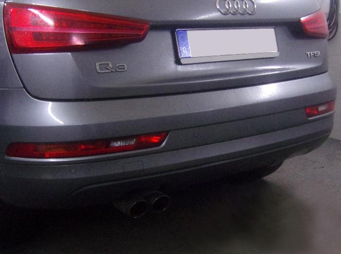 Anhängerkupplung Audi Q3, Baureihe 2011-2018  vertikal