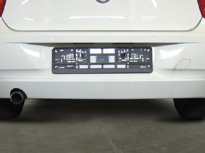 Anhängerkupplung für BMW-1er - 2011-2014 F20, Fahrzeuge mit großem ESD müssen diesen vorab austauschen (z. B. 125i) Ausf.:  vertikal