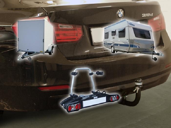 Anhängerkupplung für BMW-3er - 2014-2018 Limousine F30 Ausf.:  vertikal