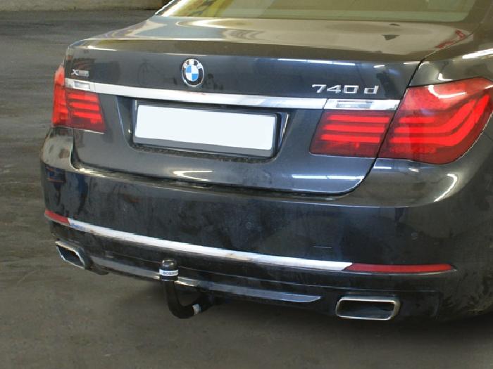 Anhängerkupplung für BMW-7er - 2009-2014 Limousine F01, F02 Ausf.:  vertikal