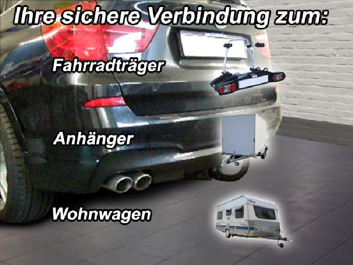 Anhängerkupplung für BMW-X3 - 2014- F25 Geländekombi, spez. M- Performance Ausf.:  vertikal