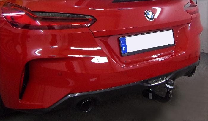 Anhängerkupplung BMW Z4 G29 Roadster, inkl. Sport-line, inkl. M-Sport, nur für Heckträgerbetrieb, Baureihe 2018-  vertikal