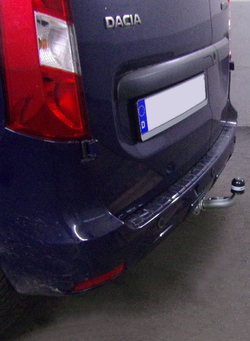 Anhängerkupplung für Dacia-Dokker - 2017- nicht LPG Gasfahrzeuge Ausf.:  horizontal