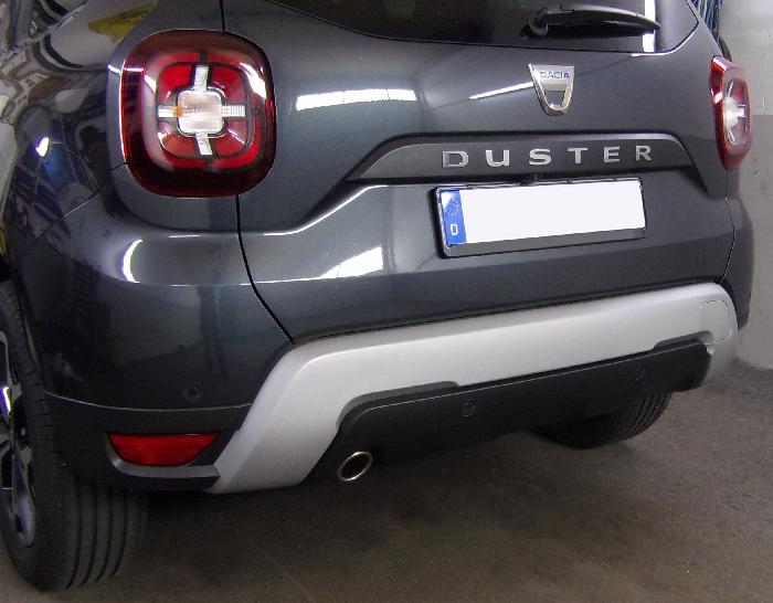 Anhängerkupplung für Dacia-Duster - 2018- SUV 2WD und 4WD Ausf.:  vertikal