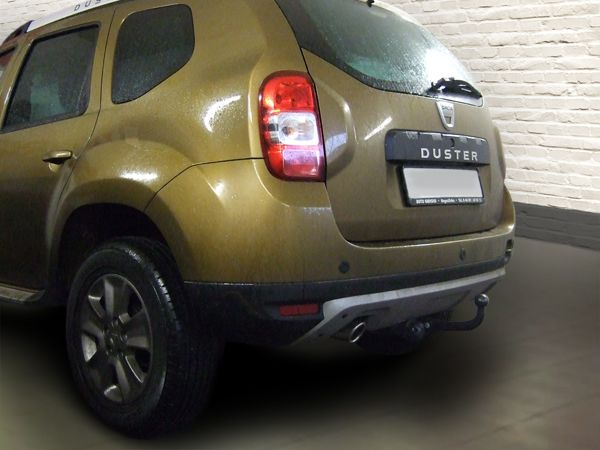 Anhängerkupplung für Dacia-Duster - 2013-2017 Pack Look 2WD und 4WD Ausf.:  feststehend