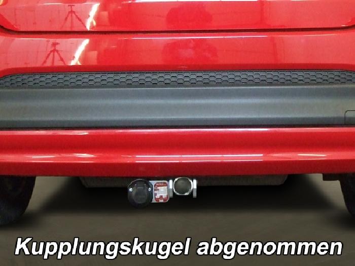 Anhängerkupplung für Fiat-500X - 2014- Off Road look, City look Ausf.:  horizontal