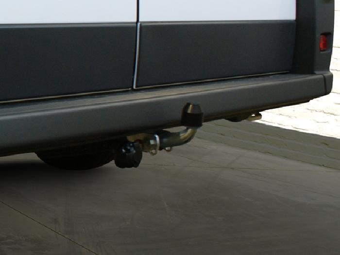 Anhängerkupplung für Peugeot-Boxer - 2014- Kasten, Bus, alle Radstände L1, L2, L3, L4, XL Ausf.:  feststehend