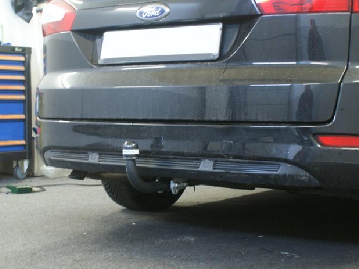 Anhängerkupplung für Ford-Mondeo - 2007-2015 Lim, nicht 4x4, nicht RS,ST Ausf.:  feststehend