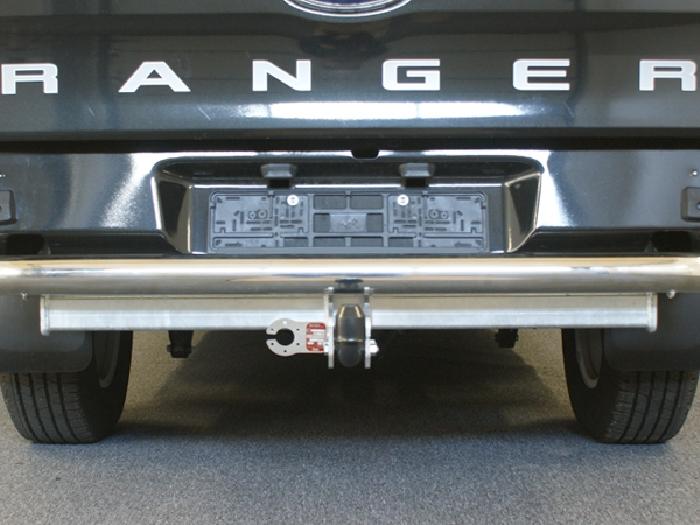 Anhängerkupplung für Mazda-BT- 50 - 2012- 4WD m. Rohrstoßfänger Ausf.:  feststehend