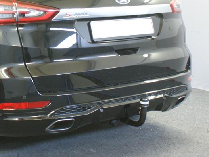 Anhängerkupplung für Ford-S-Max - 2015- speziell Titanium Sport, auch m. Fuss Sensor Heckklappe Ausf.:  vertikal