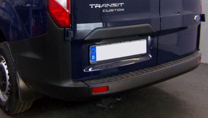 Anhängerkupplung für Ford-Transit Custom - 2019- Fzg. mit Elektrosatz Vorbereitung, Fzg. mit Euro 6.2 Motor Ausf.:  feststehend