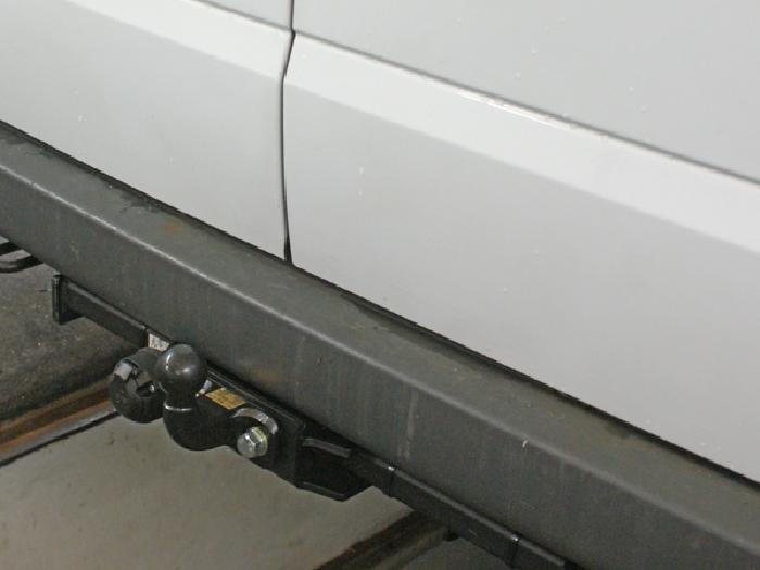 Anhängerkupplung Ford Transit Bus, Kastenwagen ohne Trittbrett, Baureihe 2000-2006  feststehend