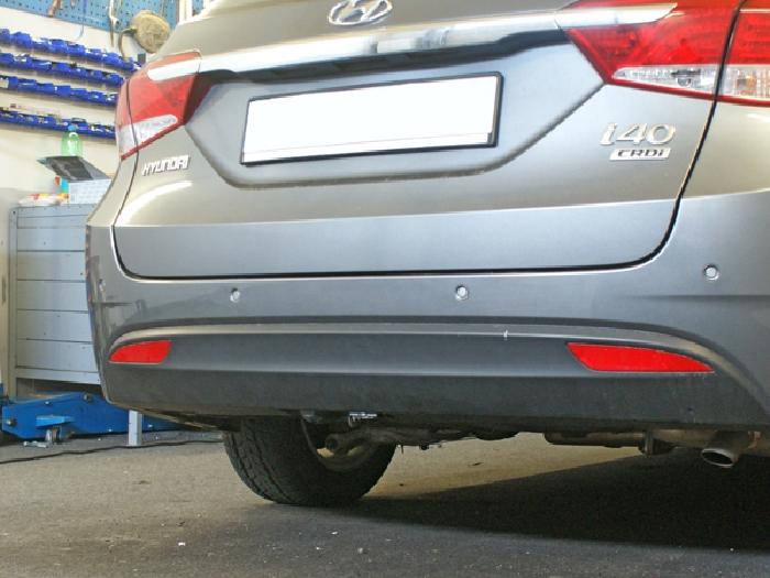 Anhängerkupplung Hyundai I40 Stufenheck, Baureihe 2012-  vertikal