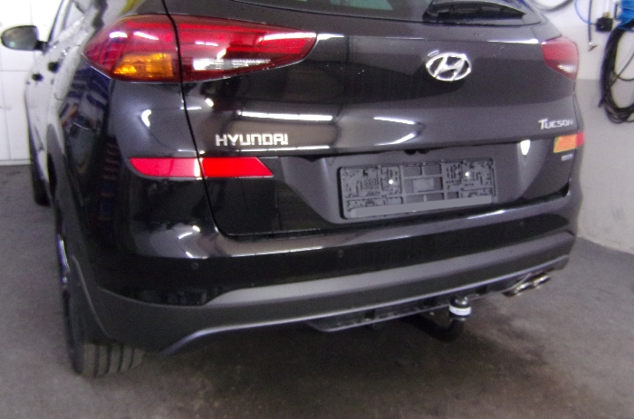 Anhängerkupplung Hyundai Tucson, Baureihe 2018-  vertikal