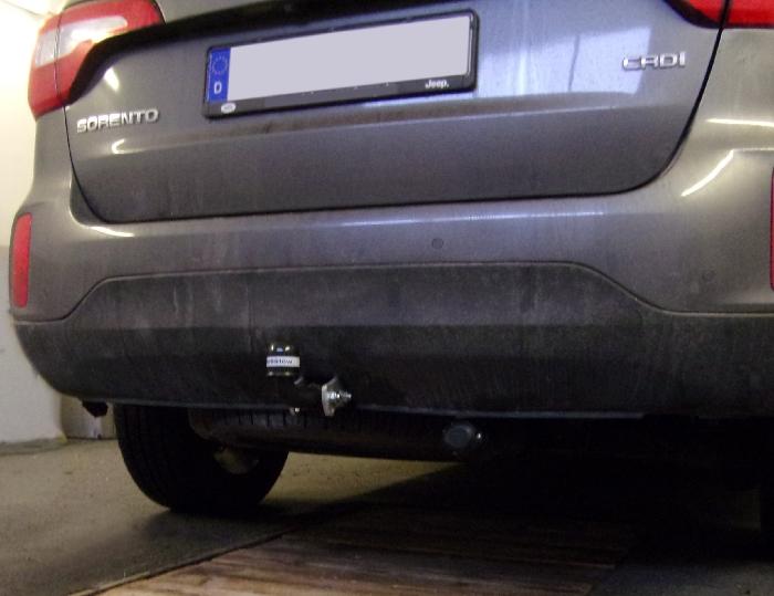 Anhängerkupplung Kia Sorento XM, Baureihe 2012-2014  feststehend