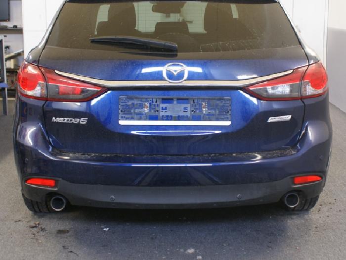 Anhängerkupplung für Mazda-6 - 2013-2018 Kombi Ausf.:  vertikal