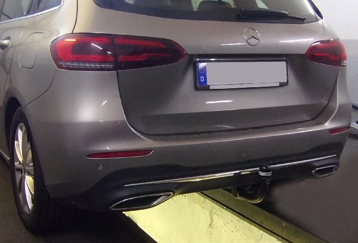 Anhängerkupplung Mercedes B-Klasse W247, Baureihe 2019-  vertikal