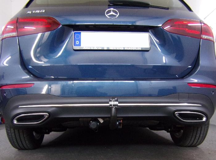Anhängerkupplung für Mercedes-B-Klasse - 2019- W247 Ausf.:  vertikal