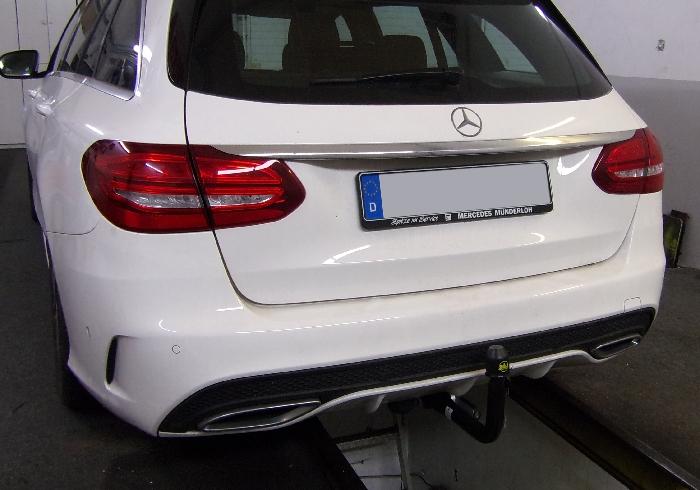 Anhängerkupplung Mercedes C-Klasse Kombi W205, spez. m. AMG Sport o. Styling Paket, Baureihe 2014-2018  vertikal