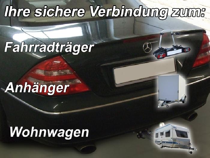 Anhängerkupplung Mercedes CL C215, 500, 600, Baureihe 1999-2005  horizontal