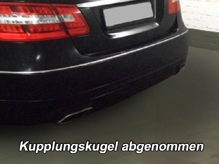 Anhängerkupplung für Mercedes-E-Klasse - 2009-2011 Limousine W 212 Ausf.:  vertikal