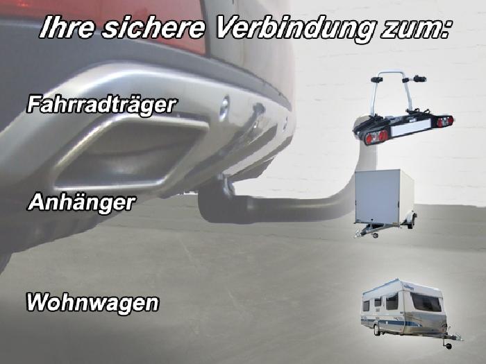 Anhängerkupplung für Mercedes-GL - 2012- X166, spez. m. AMG Sport o. Styling Paket Ausf.:  vertikal