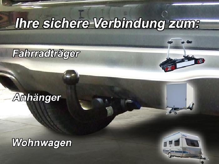 Anhängerkupplung für Mercedes-GLA - 2013- X156 Ausf.:  vertikal