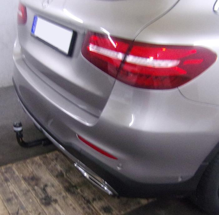 Anhängerkupplung für Mercedes-GLC - 2015-2019 X253 spez. f. Fzg. m. AMG Sport o. Styling Paket Ausf.:  vertikal