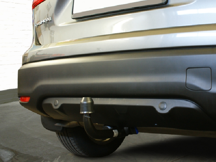 Anhängerkupplung für Nissan-Qashqai - 2014-2017 ohne Adblue Ausf.:  vertikal