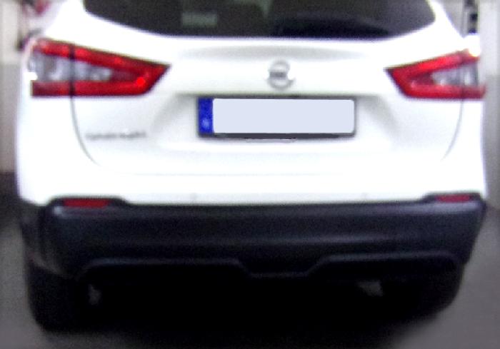 Anhängerkupplung für Nissan-Qashqai - 2014-2017 ohne Adblue Ausf.:  feststehend