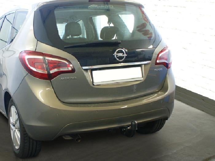 Anhängerkupplung für Opel-Meriva - 2014- B, Minivan, nicht für Kfz. mit Fahrradträgersystem Flex-Fix Ausf.:  vertikal