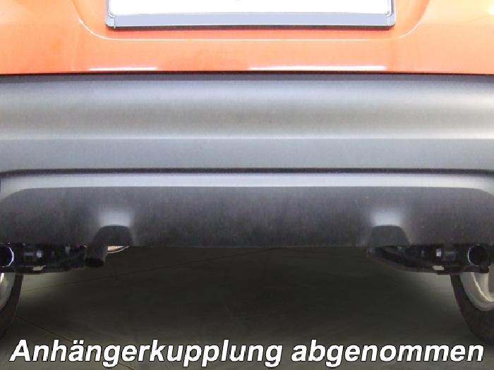 Anhängerkupplung Renault Captur, Baureihe 2013-2019  vertikal