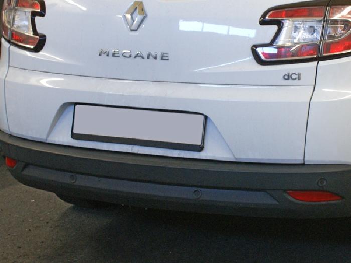 Anhängerkupplung für Renault-Megane - 2012-2016 Kombi, spez. GT- line Ausf.:  vertikal