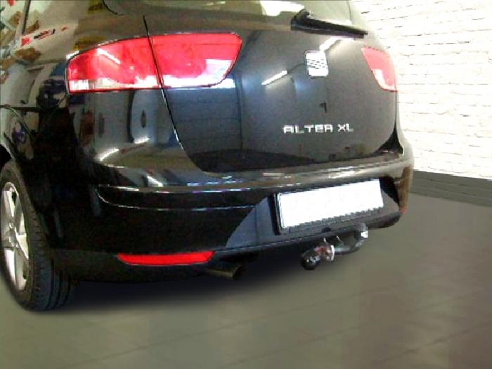 Anhängerkupplung für Seat-Altea - 2006- XL Ausf.:  feststehend