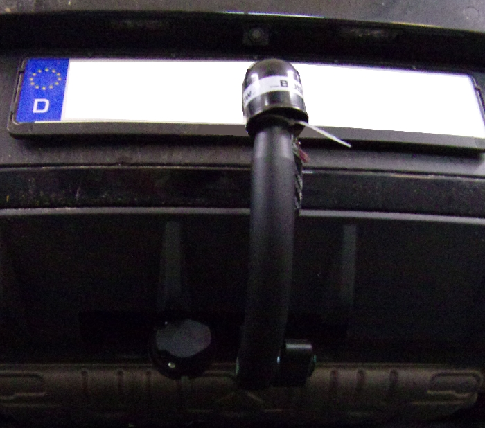 Anhängerkupplung für Seat-Leon - 2017- Fließheck Typ 5F, spez. Cupra 2WD Ausf.:  vertikal
