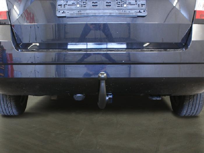 Anhängerkupplung Skoda Fabia Kombi, nicht RS, Baureihe 2018-  vertikal
