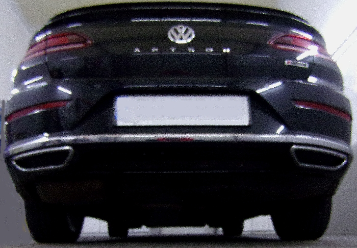 Anhängerkupplung für VW-Passat - 2014- 3c, incl. 4-Motion, Variant Ausf.:  vertikal