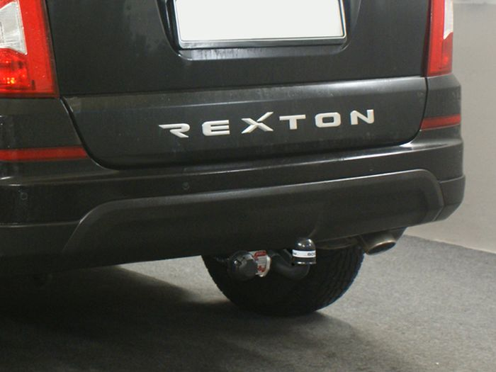 Anhängerkupplung Ssang Yong-Rexton RJ, spez. für Fahrzeuge mit Einparksensoren- PDC, Baujahr 2006-2012