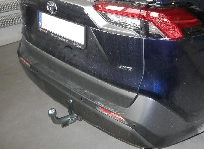 Anhängerkupplung für Toyota-RAV 4 - 2019- V (XA) Ausf.:  horizontal