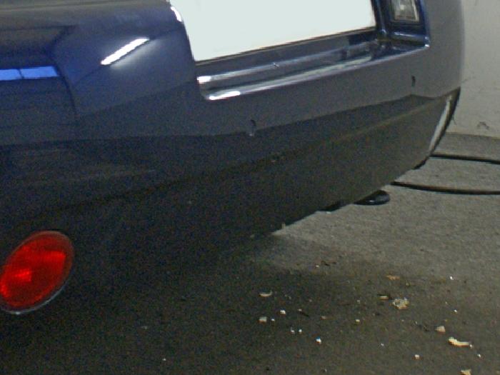 Anhängerkupplung VW Beetle incl. Cabrio, spez. für Fzg. mit Parktronic, Baureihe 2003-2004  vertikal