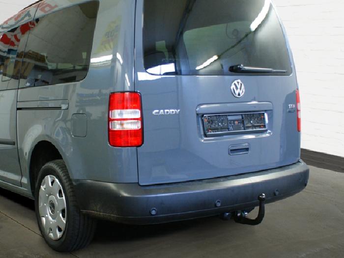 Anhängerkupplung für VW-Caddy - 2013-2015 III, IV, Cross Ausf.:  vertikal