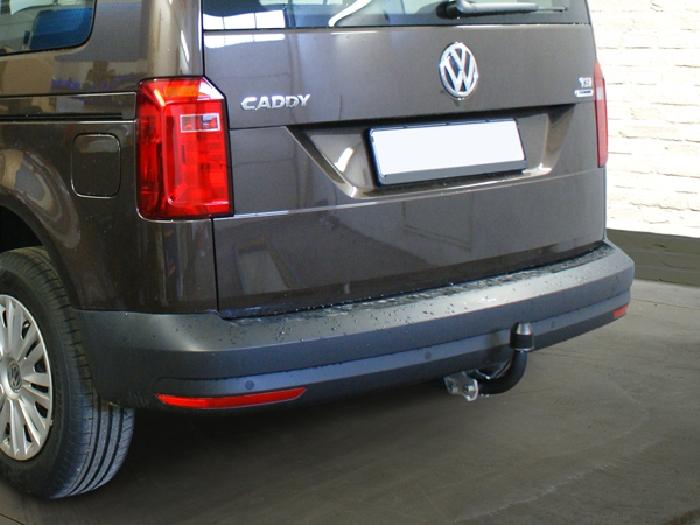 Anhängerkupplung VW Caddy Allrad, 4x4, Baureihe 2008-2015  feststehend