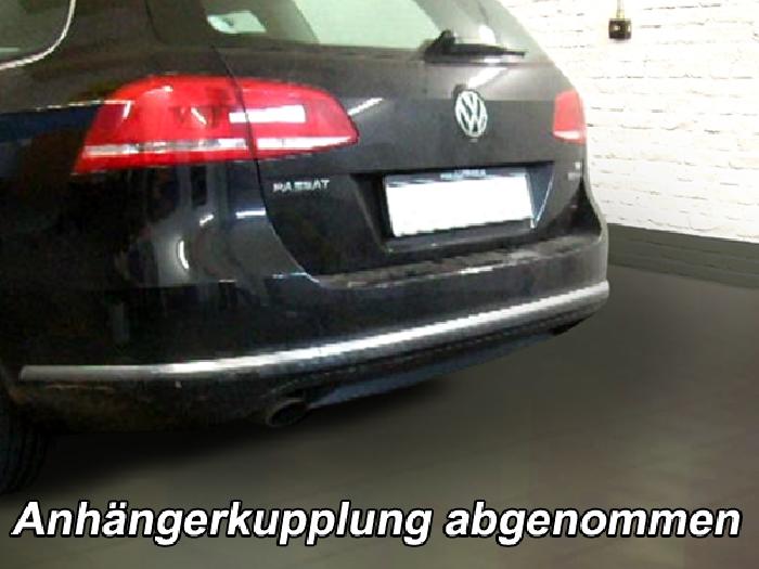 Anhängerkupplung VW Passat 3c, incl. 4-Motion, Variant, Baureihe 2010-2014  vertikal