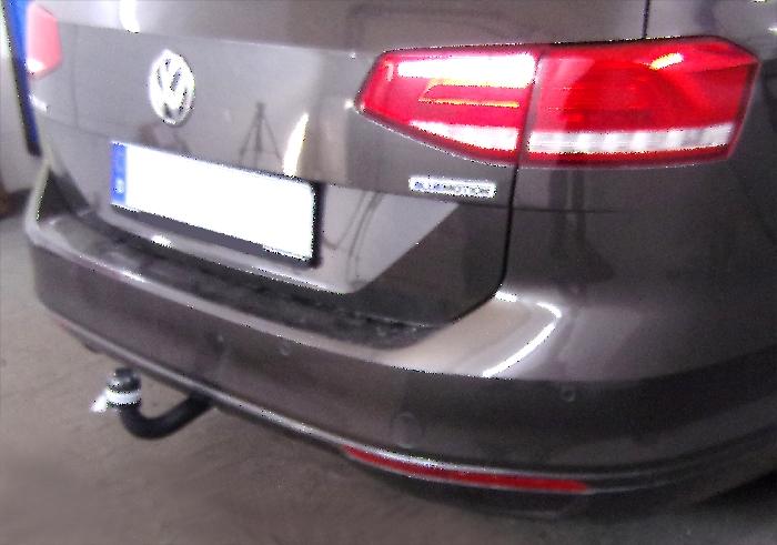 Anhängerkupplung VW Passat 3c, incl. 4-Motion, Variant, Baureihe 2014-  feststehend