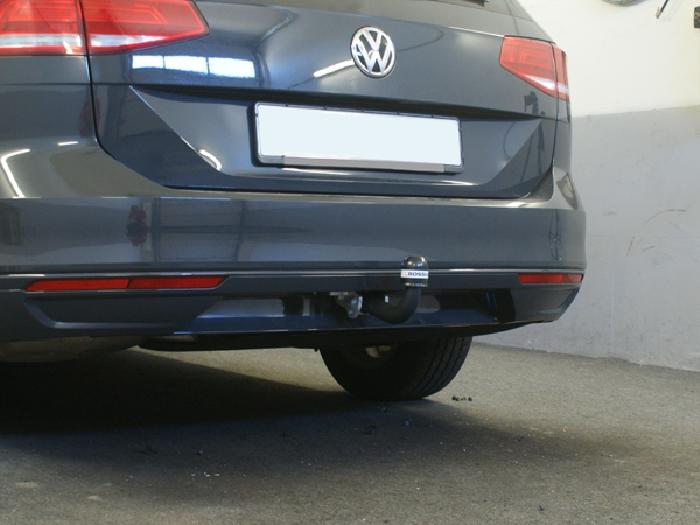 Anhängerkupplung für VW-Passat - 2014- 3c, spez. Alltrack Variant Ausf.:  feststehend
