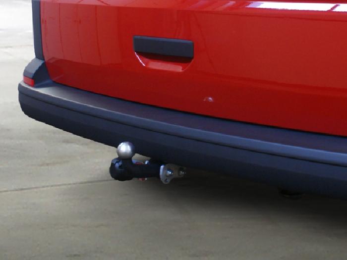Anhängerkupplung für VW-Transporter - 2015- T6, Kasten Bus Kombi, inkl. 4x4, Fzg. mit E- Satz Vorbereitung Ausf.:  feststehend