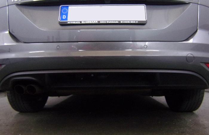 Anhängerkupplung für VW-Touran - 2015- Van Ausf.:  vertikal