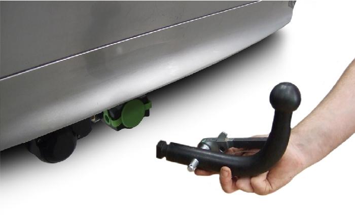 Anhängerkupplung für Kia-Magentis - 2006- Typ GE Ausf.:  horizontal