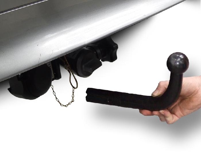 Anhängerkupplung für Ford-Mondeo - 2007-2015 Lim, nicht 4x4, nicht RS,ST Ausf.:  horizontal